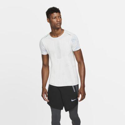 Ανδρική κοντομάνικη μπλούζα για τρέξιμο Nike Tech Pack