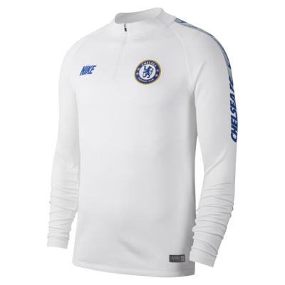 Haut de football à manches longues Chelsea FC Dri-FIT Squad Drill pour Homme