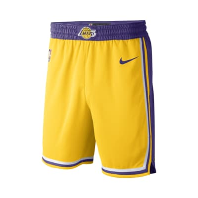Мужские шорты Nike НБА Los Angeles Lakers Nike Icon Edition Swingman
