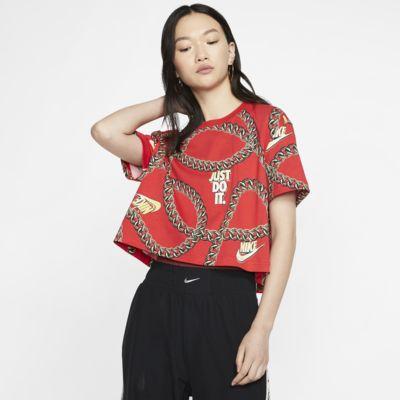 Tee-shirt court Nike Sportswear Icon Clash pour Femme