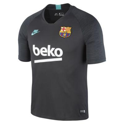 Nike Breathe FC Barcelona Strike Men's Short-Sleeve Football Top