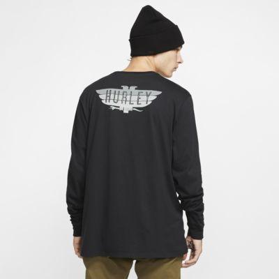 Hurley Premium Birdbars Men's Long-Sleeve T-Shirt