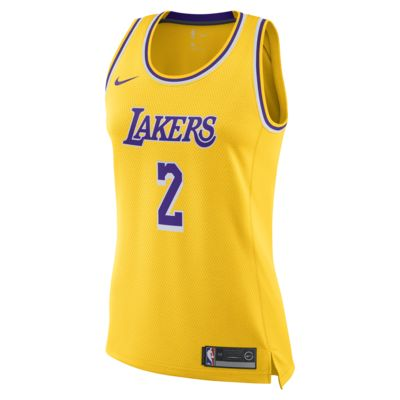 Lonzo Ball Icon Edition Swingman (Los Angeles Lakers) Women's Nike NBA Connected Jersey