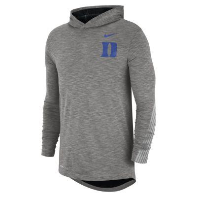 Nike College (Duke) Men's Long-Sleeve Hooded T-Shirt