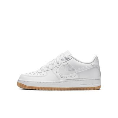 Nike Air Force 1 Floral sko til store barn