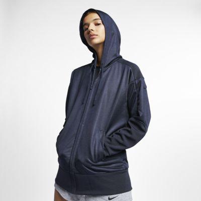 Женская худи для тренинга с молнией во всю длину Nike Dri-FIT