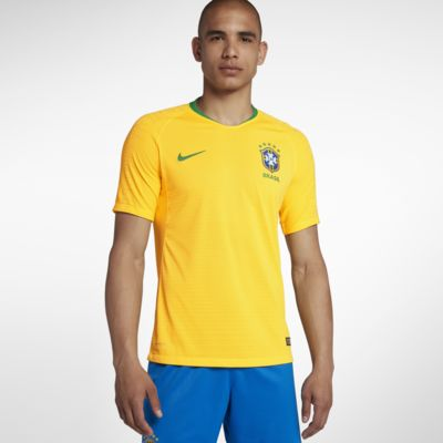 2018 Brasil CBF Vapor Match Home fotballdrakt til herre