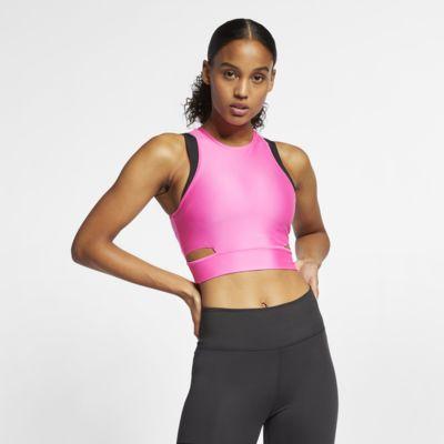 Nike Korte trainingstanktop voor dames