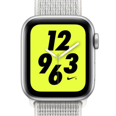 Montre Sport 40 mm Apple Watch Nike+ Series 4 (GPS + Cellular) avec bracelet Nike Sport Loop