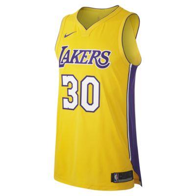 Julius Randle Icon Edition Authentic (Los Angeles Lakers) Nike NBA Connected-trøje til mænd