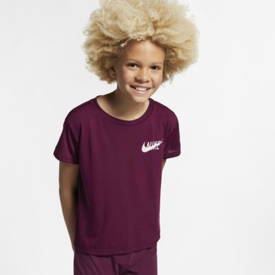 Nike Dri-FIT Older Kids' (Girls') Short-Sleeve Training Top