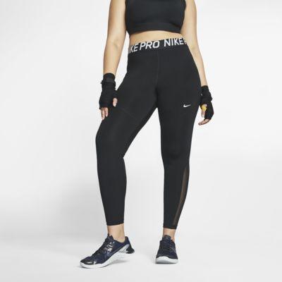 Γυναικείο κολάν Nike Pro (μεγάλα μεγέθη)