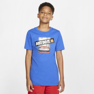 Nike Dri-FIT Big Kids' Basketball T-Shirt