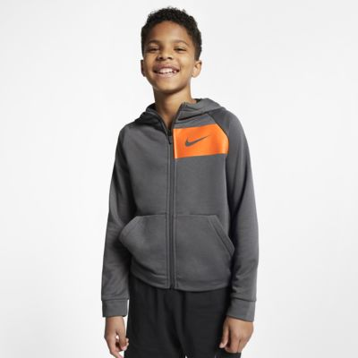 Sweat à capuche de training entièrement zippé Nike Dri-FIT pour Enfant plus âgé