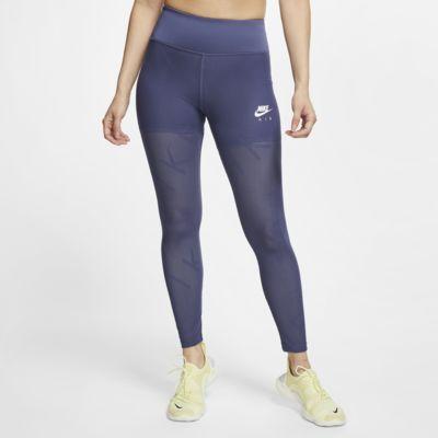Nike Air 7/8-hardlooptights met mesh voor dames