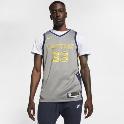 Marc Gasol City Edition Swingman (Memphis Grizzlies) Nike NBA Connected Trikot für Herren