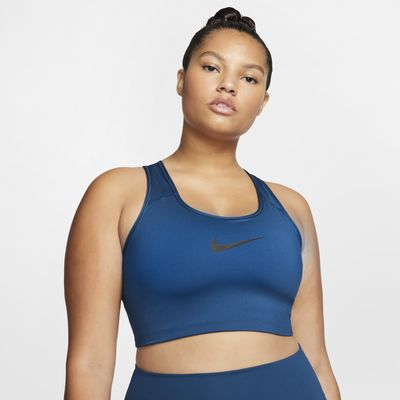 Nike Women's Swoosh Medium-Support Sports Bra (Plus Size)