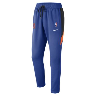 Мужские брюки НБА New York Knicks Nike Therma Flex Showtime
