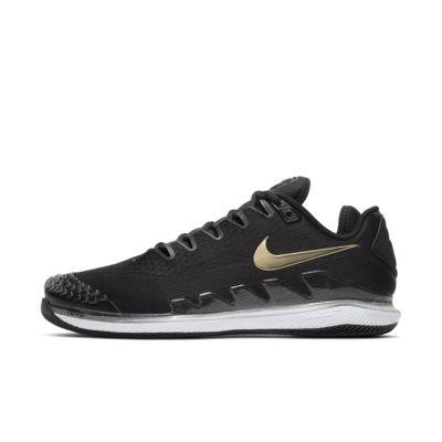 Tennissko för hårt underlag NikeCourt Air Zoom Vapor X Knit för män