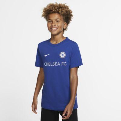 Chelsea FC T-skjorte til store barn