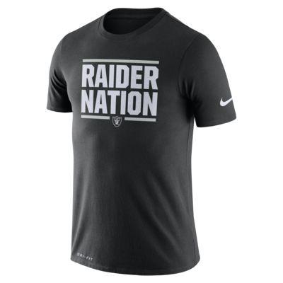 Nike Dri-FIT Local (NFL Raiders) Men's T-Shirt