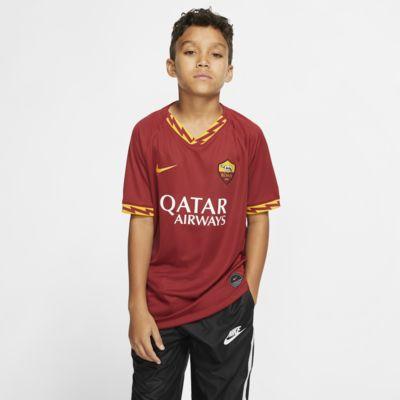 A.S. Roma 2019/20 Stadium Home Genç Çocuk Futbol Forması