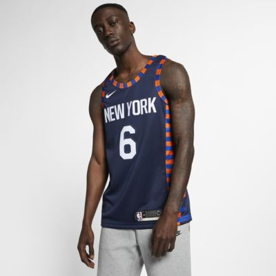 Kristaps Porziņģis City Edition Swingman (New York Knicks) Men's Nike NBA Connected Jersey