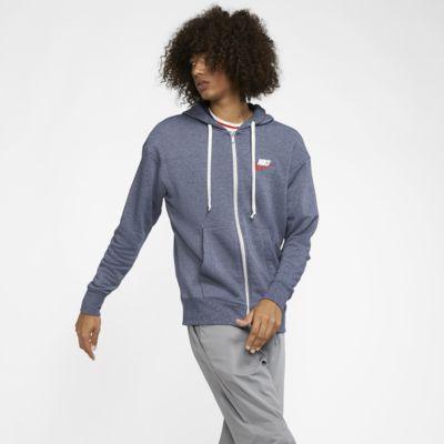 Huvtröja med hel dragkedja Nike Sportswear Heritage för män