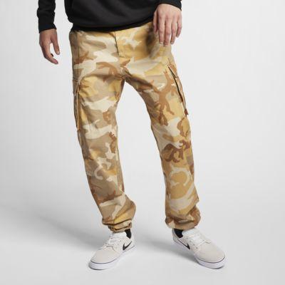 Calças de skateboard com padrão camuflado Nike SB Flex FTM