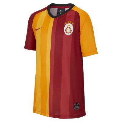 Camiseta de fútbol de manga corta de local para niños talla grande del Galatasaray 2019/20
