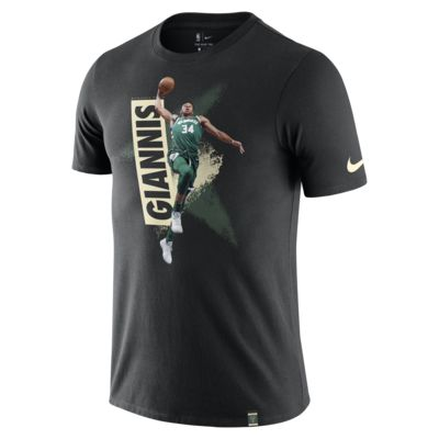 Giannis Antetokounmpo Milwaukee Bucks Nike Dri-FIT NBA-T-Shirt für Herren