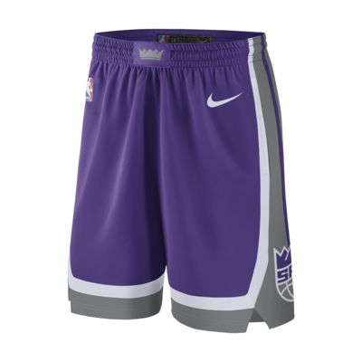 Calções NBA Nike Sacramento Kings Icon Edition Swingman para homem
