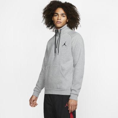 Ανδρική φλις μπλούζα με φερμουάρ στο μισό μήκος Jordan Jumpman