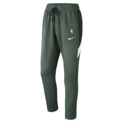 Spodnie męskie NBA Milwaukee Bucks Nike Therma Flex Showtime