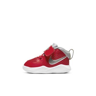 Nike Team Hustle D 9 Auto Baby/Toddler Shoe