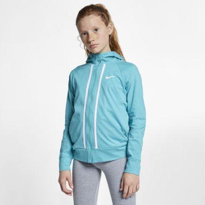 Nike Sportswear Older Kids' (Girls') Full-Zip Hoodie