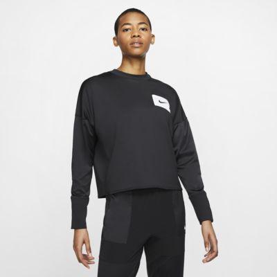 Strato intermedio a girocollo da running Nike - Donna