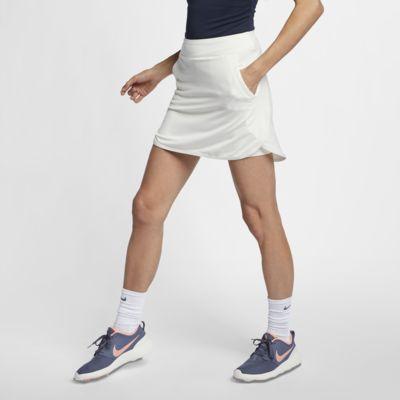 Nike Dri-FIT-golfnederdel (43 cm) til kvinder