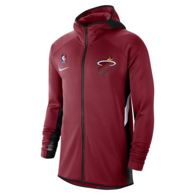 Miami Heat Nike Therma Flex Showtime Men's NBA Hoodie