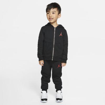 Bluza z kapturem i joggery dla maluchów Jordan Jumpman (zestaw dwuczęściowy)