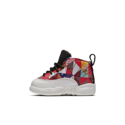 Air Jordan 12 Retro CNY Baby/Toddler Shoe
