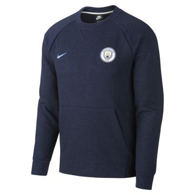 Manchester City FC Men's Long-Sleeve Crew
