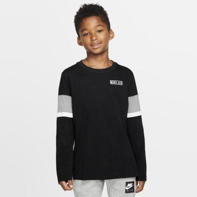 Nike Air Big Kids' (Boys') Long-Sleeve Top