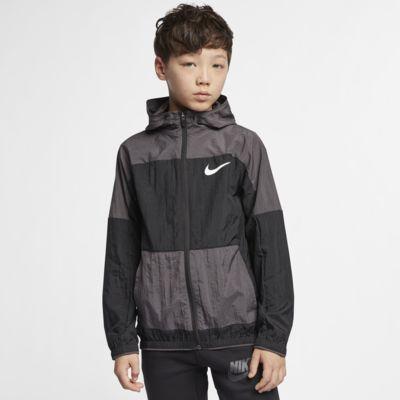 Nike Dri-FIT Older Kids' Woven Training Jacket
