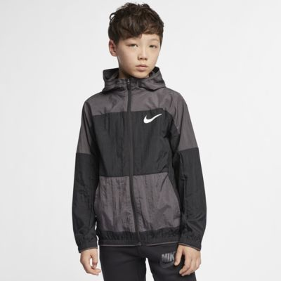 Nike Dri-FIT Older Kids' Woven Training Jacket