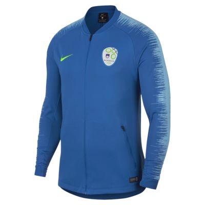 Chamarra de fútbol para hombre Slovenia Anthem