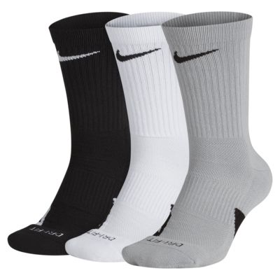 Nike Elite Crew Basketball Socks (3 Pairs)
