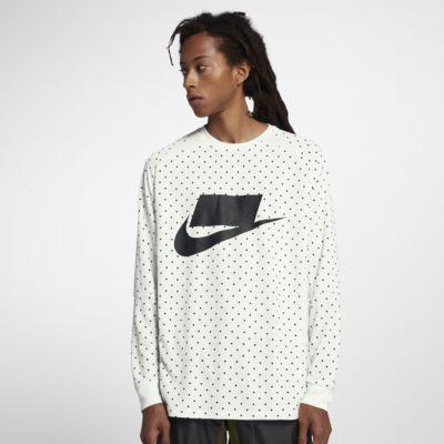 Top de manga larga para hombre Nike Sportswear