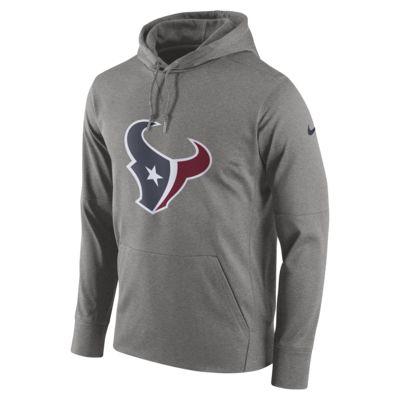 Felpa pullover con cappuccio Nike Circuit Logo Essential (NFL Texans) - Uomo