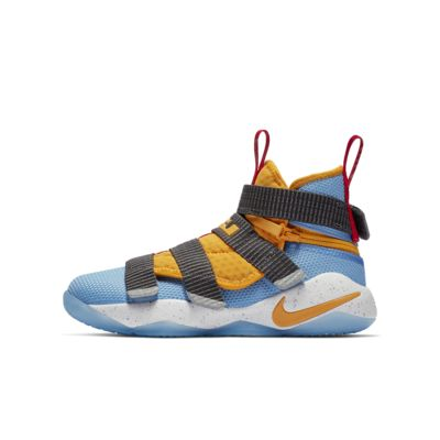 best service 399fb fc524 LeBron Soldier 11 FlyEase Big Kids' Basketball Shoe